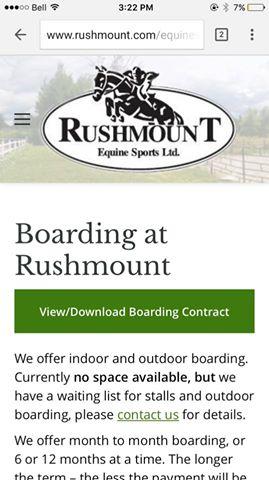 rushmount-equine